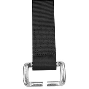 Tauranga Canvas Curtainsider Strap and Hook 35mm