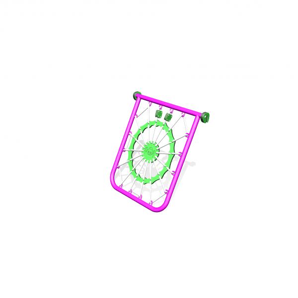 Park Supplies & Playgrounds PlayBlox Spiders Web 3D