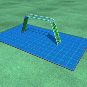Park Supplies & Playgrounds Fitness Trails Altitude 3D