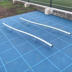 Park Supplies & Playgrounds Fitness Trail Balance Bars