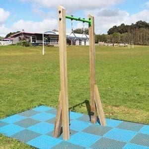 Park Supplies & Playgrounds Fitness Trail Gym Rings