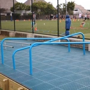 Park Supplies & Playgrounds Fitness Trail Hurdles