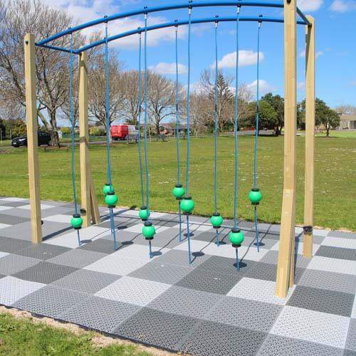 Park Supplies & Playgrounds Fitness Trail Jungle Crossing