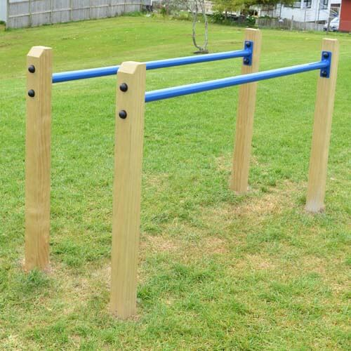 Park Supplies & Playgrounds Fitness Trail Parallel Bars