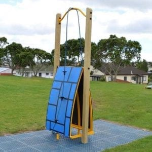 Park Supplies & Playgrounds Fitness Trail Scale Wall