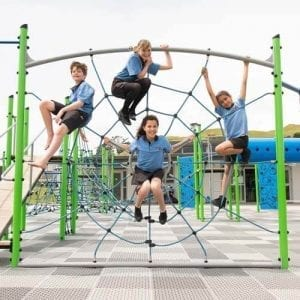 Park Supplies & Playgrounds Fitness Trails Spiders Web