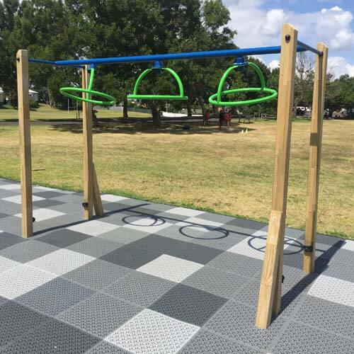 Park Supplies & Playgrounds Fitness Trail Twister Rings