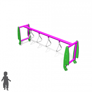 Park Supplies & Playgrounds PlayBlox Gladiator Rings 3D