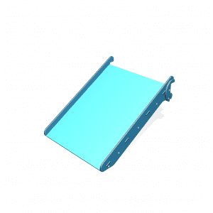 Park Supplies & Playgrounds PlayBlox Stage Ramp Slide 3D