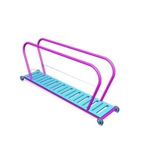 Park Supplies & Playgrounds PlayBlox Plastic ladder with Handrails 3D