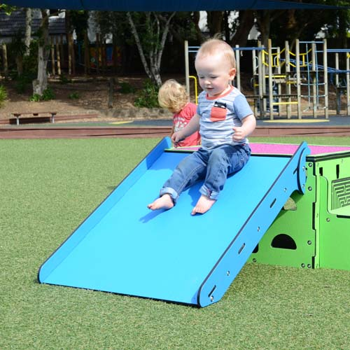 Park Supplies & Playgrounds PlayBlox Stage Ramp Slide