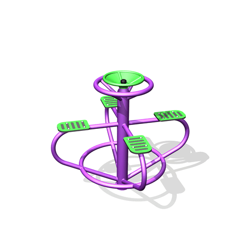 Park Supplies & Playgrounds Roundabout Spinner 3D