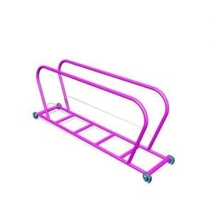 Park Supplies & Playgrounds PlayBlox Steel Ladder with Handrails 3D