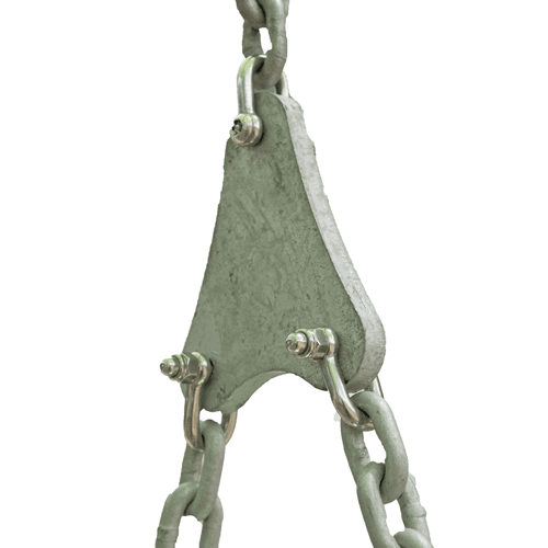 Park Supplies & Playgrounds Parts - Lilypad Triangles Chain