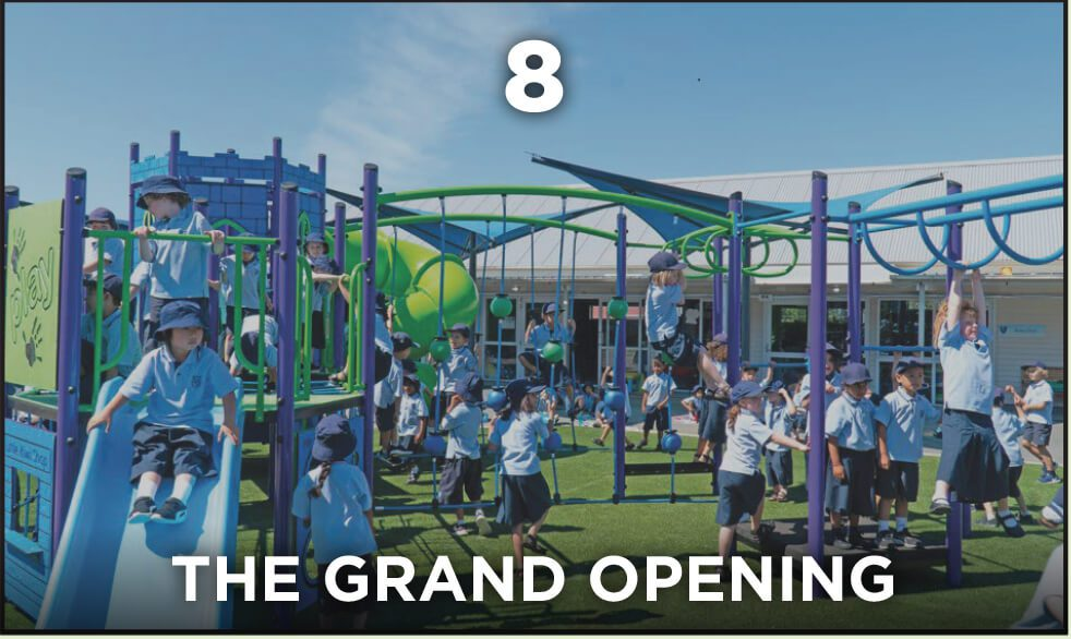 Park Supplies & Playgrounds - Our Process - #8 The Grand Opening