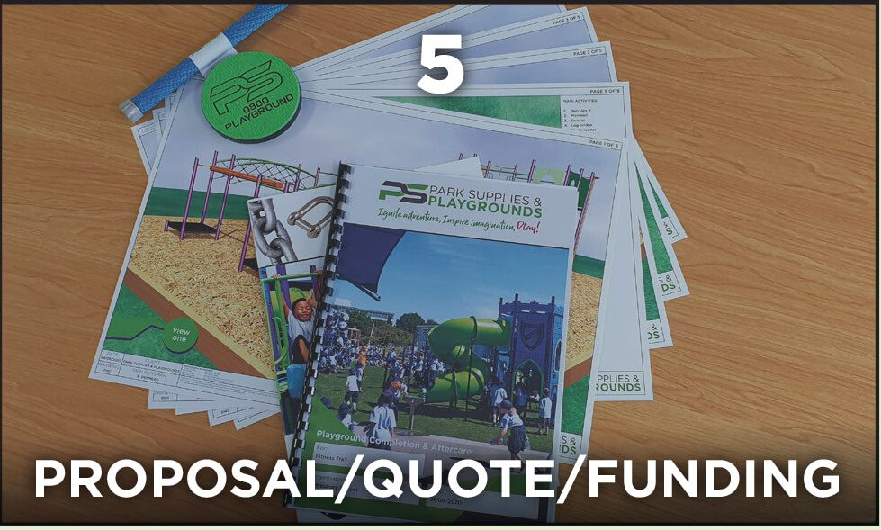 Park Supplies & Playgrounds - Our Process - #5 Proposal/Quote/Funding