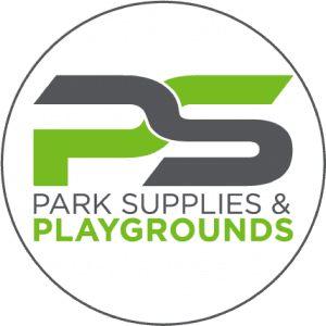 Official PArk Supplies & Playgrounds Round Logo