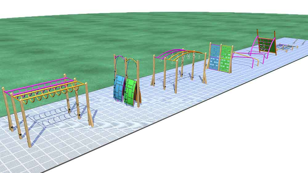 Park Supplies & Playgrounds Fitness Trail Design